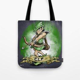 Gauntlet: Elf portrait Tote Bag