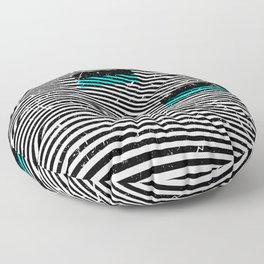 Striposcopy Floor Pillow