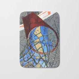 Basketball Art Alleyway Bath Mat