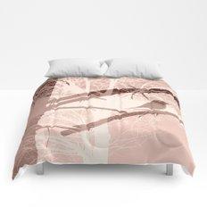 Bird tree Comforters