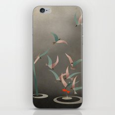 The Red Fish iPhone & iPod Skin