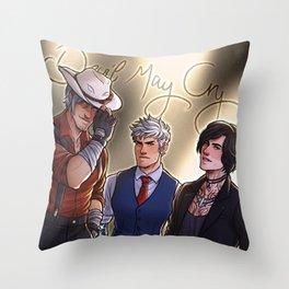 Handsome Devils | Dante, Nero & V | DMC5 Throw Pillow