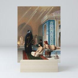 Jean-Léon Gérôme - Pool in a Harem Mini Art Print