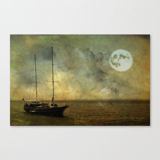 A ship 2 Canvas Print