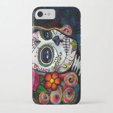 Sugar Skull Candy Slim Case iPhone 7