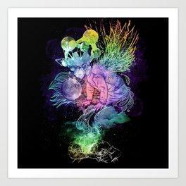 Growing A Mind Art Print