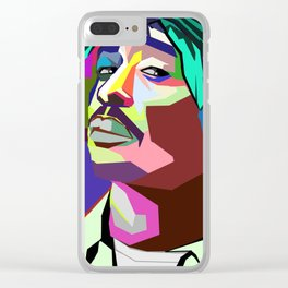 Tupac (all eyes on me) Clear iPhone Case