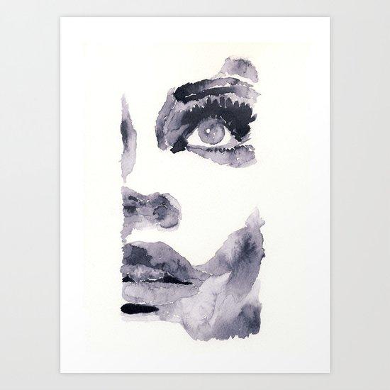 Epiphany - ink wash Art Print