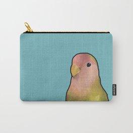 Lovebird Friend Carry-All Pouch