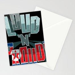 North Korea Pride Loud N Proud Stationery Cards