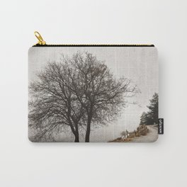 """""""Mountain path"""". Retro Carry-All Pouch"""