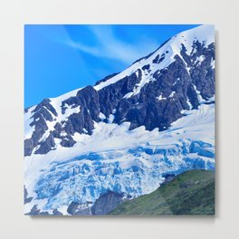 Whittier Glacier - I Metal Print