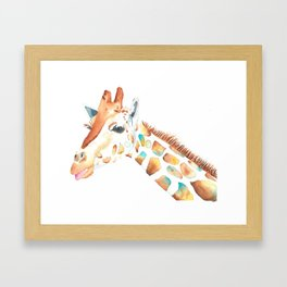 Jiraffe Framed Art Print
