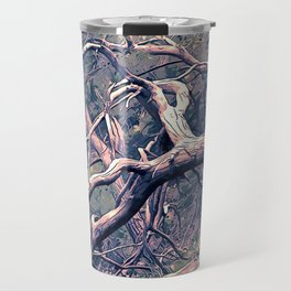 dead forest fallen trees x Travel Mug