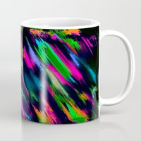 fireworks Mugs featuring Fireworks by Patty Weiler