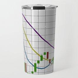 Indicator Alligator on white Travel Mug