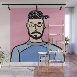 Beard Boy: Steven Wall Mural