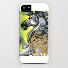 Everything Stone Turns To Gold iPhone Case