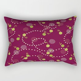 Cherry Delight Rectangular Pillow