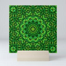 Kaleidoscope , mandala , ornament 14 Mini Art Print