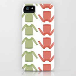 Sweater Weather: Holly Jolly iPhone Case