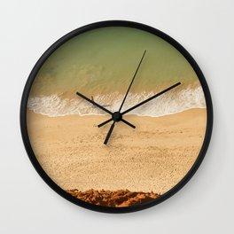 Beach Algarve Portugal Wall Clock