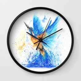 Between Water And Air Wall Clock