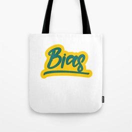 Famous & Fabulous Bias Tshirt Design Bias Tote Bag