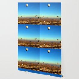 Hot Air Balloons (Color) Wallpaper