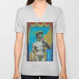 Michelangelo at Home Unisex V-Neck