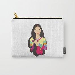 장화 'The Korean Rose' Carry-All Pouch