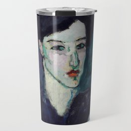 "Amedeo Modigliani ""The Jewess"" Travel Mug"