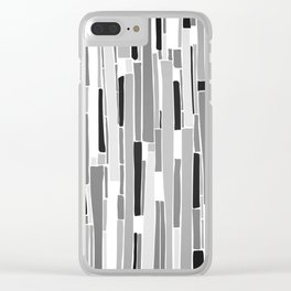 Stacked BW Clear iPhone Case