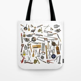 vintage utensils Tote Bag