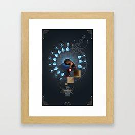 D-Rose story Framed Art Print