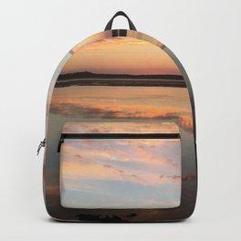 Tillamook Bay, Oregon Sunset Backpack