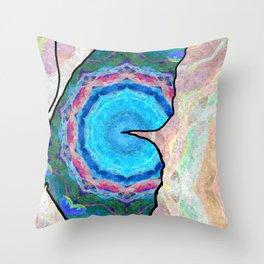 Butterfly Half Throw Pillow