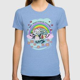 Best Dead Friends Forever - Steve the zombie & Violet the vapire T-shirt