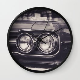 Vintage Car No.4 Wall Clock