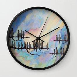 Spiritual Tribute Wall Clock