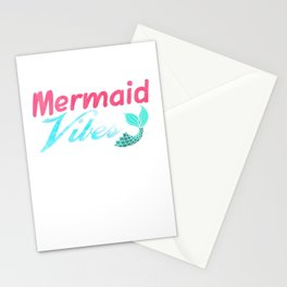 Mermaid Vibes Stationery Cards