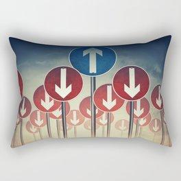 life decision Rectangular Pillow