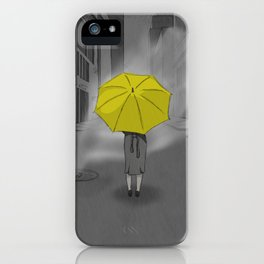 The Girl With The Yellow Umbrella - HIMYM iPhone Case