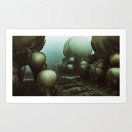 Alphaville Art Print