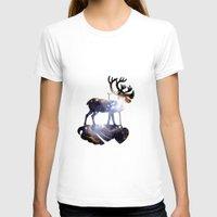 reindeer T-shirts featuring Reindeer by infloence
