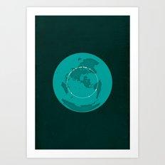 The Great Circle Art Print