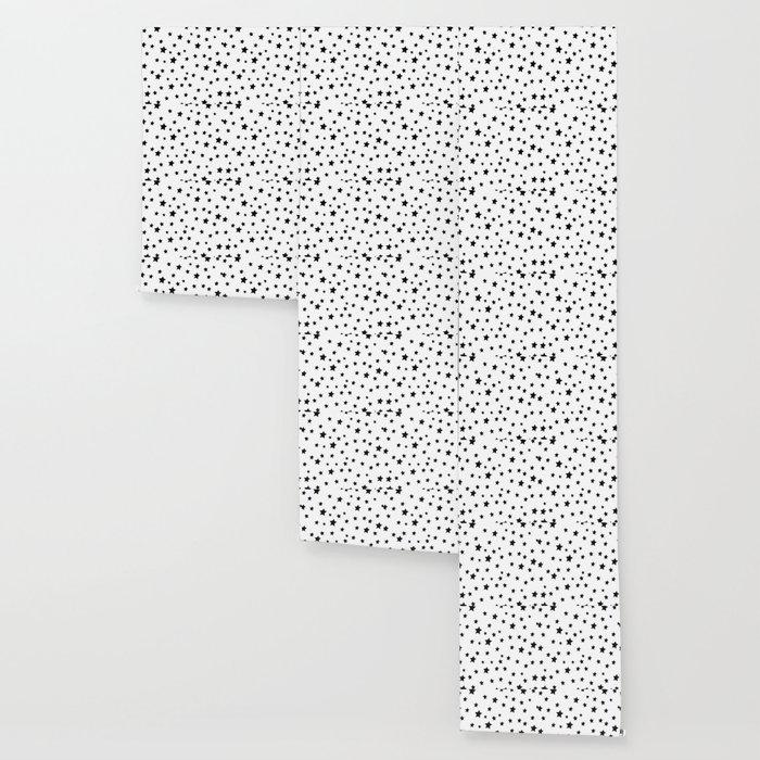 Black And White Stars Wallpaper