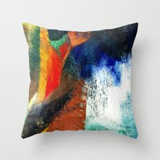 Petroleum & Soil Throw Pillow
