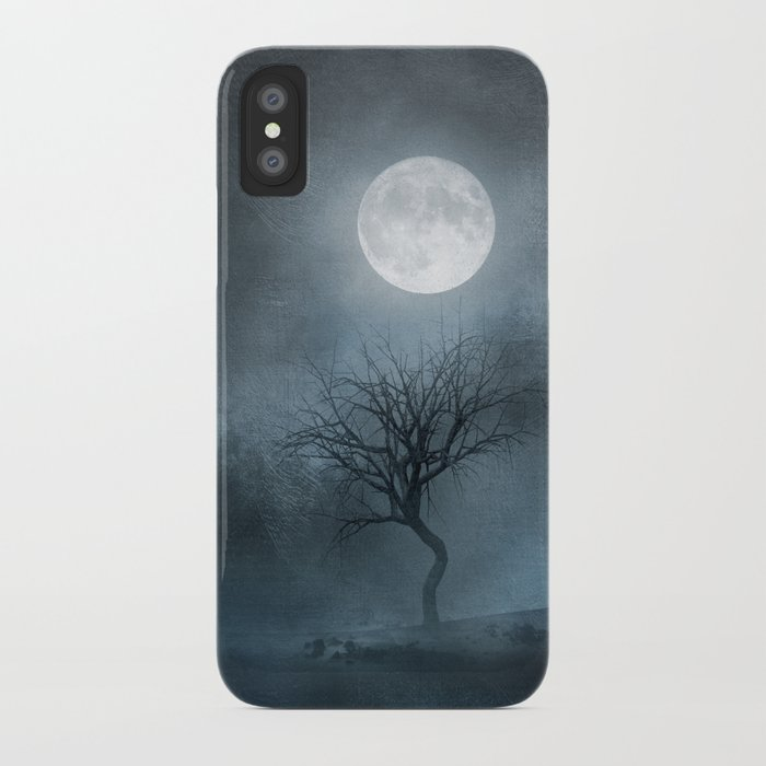 The Moon and the Tree. II iPhone Case