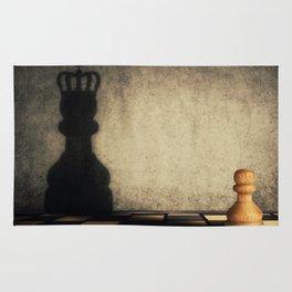 pawn glorification Rug